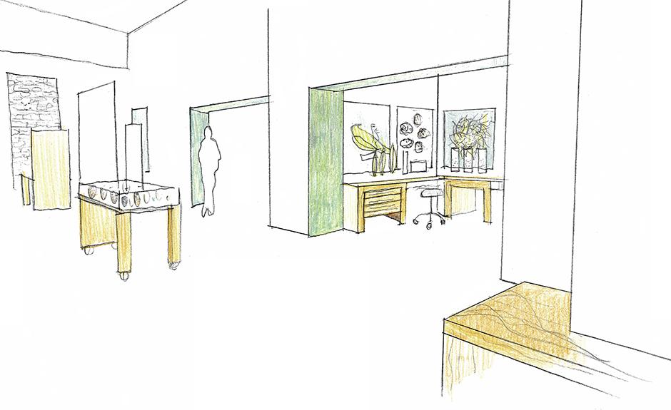 exhibit design, environmental graphics, signage, interactive, main street design, Cornell Lab of Ornithology